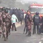 সাভারে শ্রমিক-পুলিশ সংঘর্ষে আহত ১৫, বিজিবি মোতায়েন