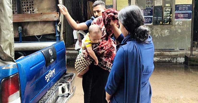 আসামির স্ত্রীকে গণধর্ষণ: এবার ওসি প্রত্যাহার, তিন আসামি রিমান্ডে
