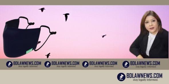এডভোকেট নাহিদ সুলতানা যুথীর সৌজন্যে ঝিনাইদহ জেলা আইনজীবী সমিতিতে মাস্ক বিতরণ কর্মসূচি